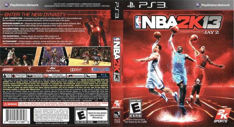 NBA 2K13 PS3 coverfullM (BLUS31028)