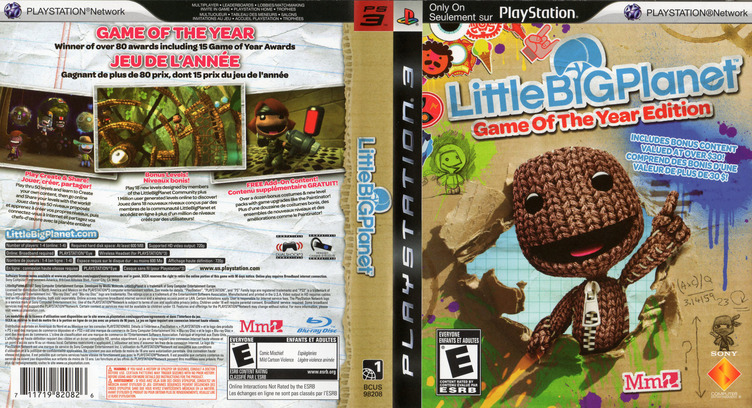 LittleBigPlanet (Game of the Year Edition) Array coverfullM2 (BCUS98208)