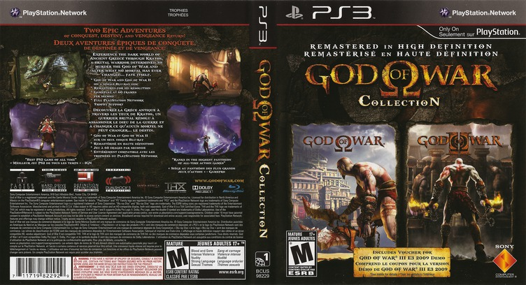 God of War Collection PS3 coverfullM2 (BCUS98229)