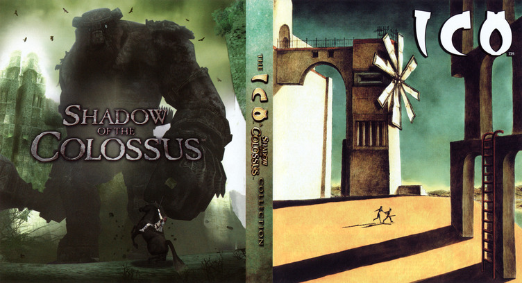 The ICO & Shadow of the Colossus Collection PS3 coverfullM2 (BCUS98259)