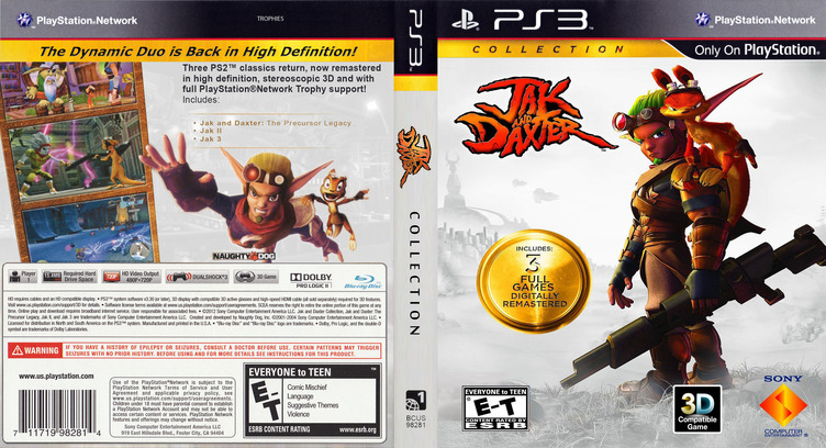 Jak & Daxter  Collection PS3 coverfullM2 (BCUS98281)