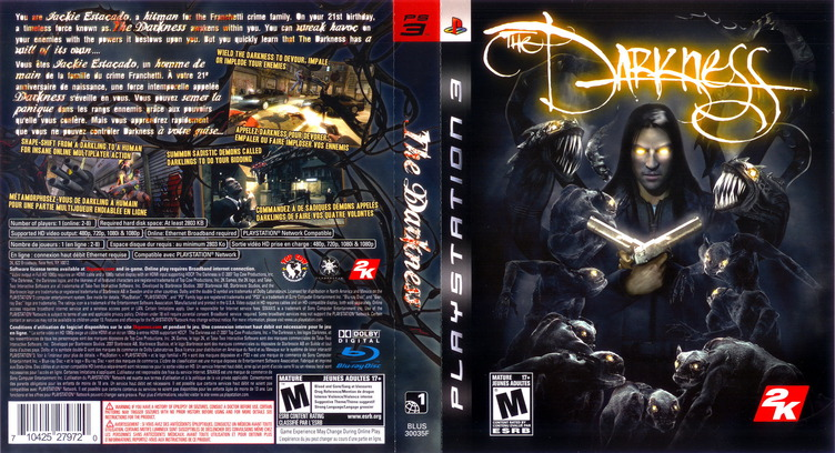 The Darkness PS3 coverfullM2 (BLUS30035)