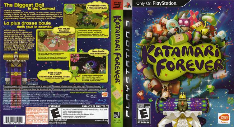 Katamari Forever PS3 coverfullM2 (BLUS30336)