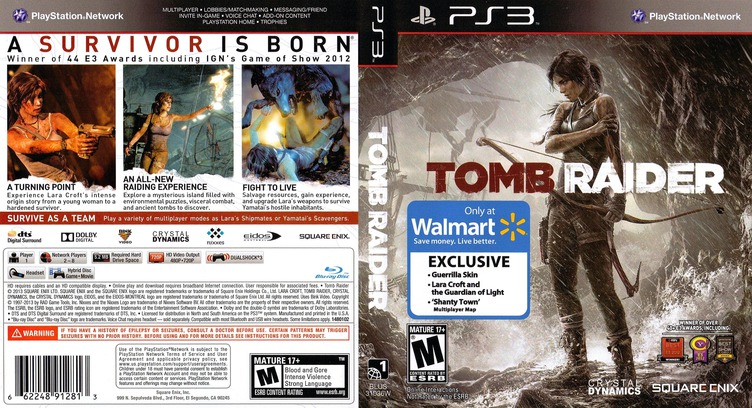 Tomb Raider PS3 coverfullM2 (BLUS31036)