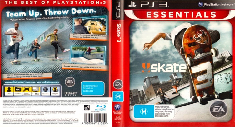Skate 3 PS3 coverfullMB (BLES00760)