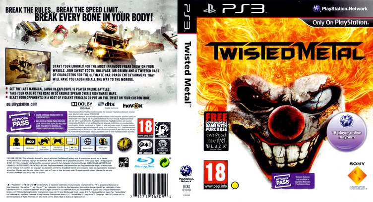 Twisted Metal PS3 coverfullMB (BCES01010)