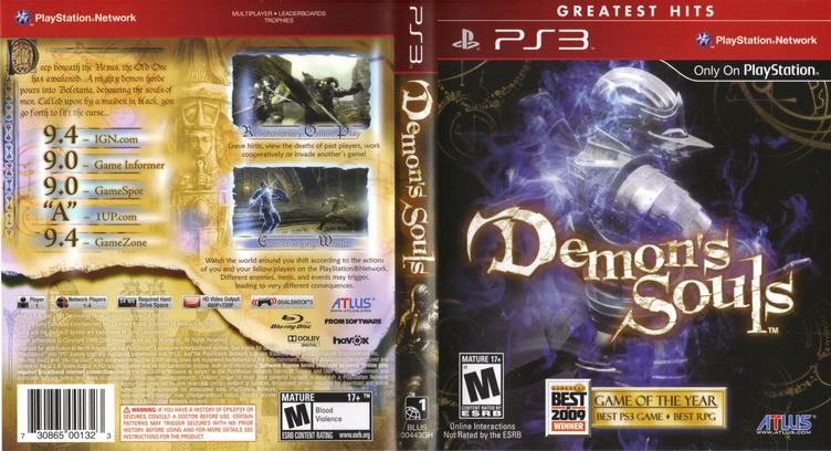 Demon's Souls PS3 coverfullMB (BLUS30443)