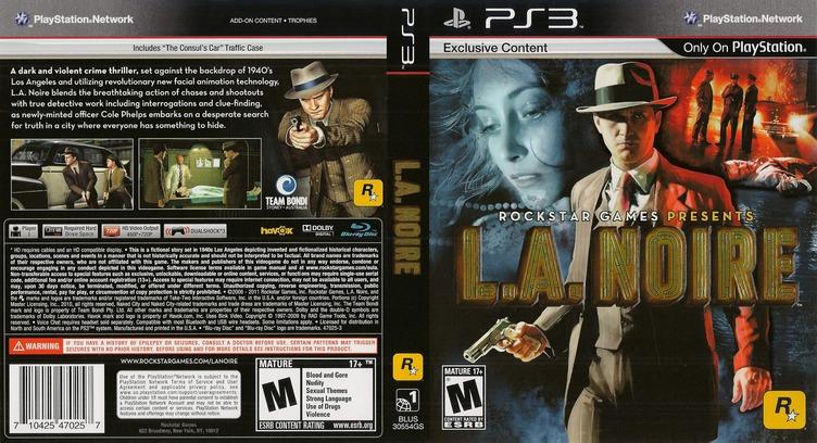 L.A. Noire PS3 coverfullMB (BLUS30554)