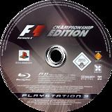 Formula One: Championship Edition PS3 disc (BCES00005)