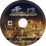 Genji: Days of the Blade PS3 disc (BCES00002)
