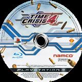 Time Crisis 4 PS3 disc (BCES00057)