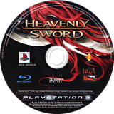 Heavenly Sword PS3 disc (BCES00078)