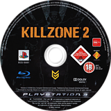 Killzone 2 PS3 disc (BCES00081)