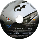 Gran Turismo 5: Prologue PS3 disc (BCES00104)