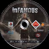 inFamous PS3 disc (BCES00220)