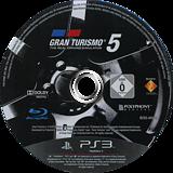 Gran Turismo 5 PS3 disc (BCES00569)