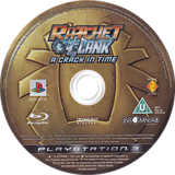 Ratchet & Clank: A Crack in Time PS3 disc (BCES00726)