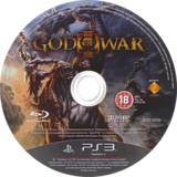 God of War III PS3 disc (BCES00799)