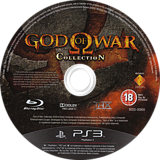 God of War Collection PS3 disc (BCES00800)