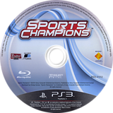 Sports Champions PS3 disc (BCES01012)
