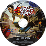 Kung Fu Rider PS3 disc (BCES01029)