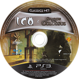 The ICO & Shadow of the Colossus Collection PS3 disc (BCES01115)