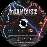 inFamous 2 PS3 disc (BCES01144)