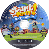 Start the Party! Save the World PS3 disc (BCES01274)