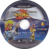 Jak & Daxter The Trilogy PS3 disc (BCES01325)