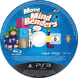 Move Mind Benders PS3 disc (BCES01334)