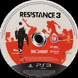 Resistance 3 PS3 disc (BCES01353)