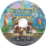 Carnival Island PS3 disc (BCES01370)