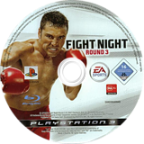 Fight Night: Round 3 PS3 disc (BLES00026)