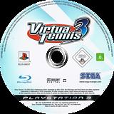 Virtua Tennis 3 PS3 disc (BLES00027)
