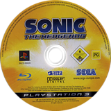 Sonic the Hedgehog PS3 disc (BLES00028)
