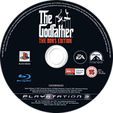 The Godfather: The Don's Edition PS3 disc (BLES00043)