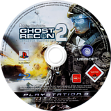 Tom Clancy's Ghost Recon: Advanced Warfighter 2 PS3 disc (BLES00067)