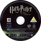 Harry Potter and the Order of the Phoenix PS3 disc (BLES00070)