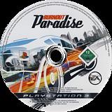 Burnout Paradise PS3 disc (BLES00074)