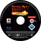 Hellboy: Science of Evil PS3 disc (BLES00090)