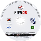 FIFA 08 PS3 disc (BLES00132)