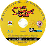 The Simpsons Game PS3 disc (BLES00142)