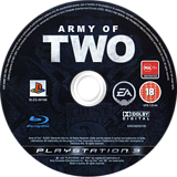 Army of Two PS3 disc (BLES00168)