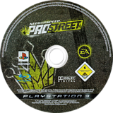 Need for Speed: ProStreet PS3 disc (BLES00176)