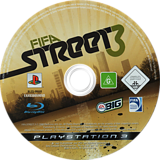 FIFA Street 3 PS3 disc (BLES00188)