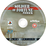 Soldier of Fortune: Payback PS3 disc (BLES00189)