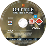 The History Channel: Battle for the Pacific PS3 disc (BLES00194)