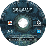 Turning Point: Fall of Liberty PS3 disc (BLES00196)