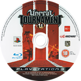 Unreal Tournament 3 PS3 disc (BLES00200)