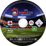 UEFA Euro 2008 PS3 disc (BLES00227)